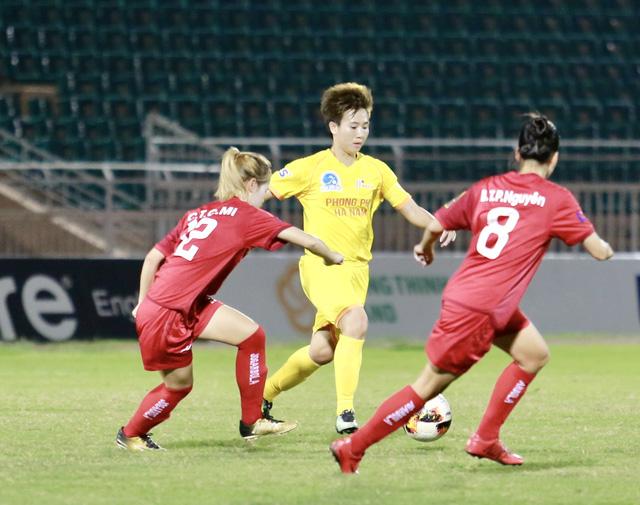 Vòng 11 giải bóng đá nữ VĐQG 2020: Tuyết Dung lập cú repoker - Ảnh 2.