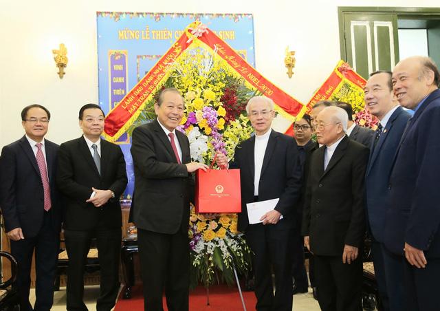 Phó Thủ tướng Trương Hòa Bình chúc Giáng sinh đồng bào Công giáo - ảnh 1