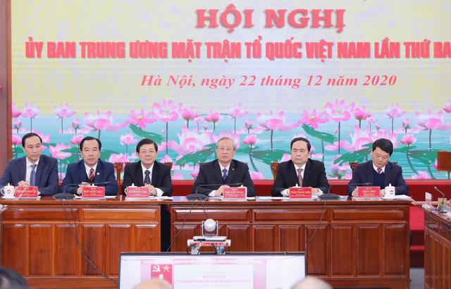 Thường trực Ban Bí thư: Đề nghị MTTQ giới thiệu người đủ tiêu chuẩn ứng cử đại biểu Quốc hội - Ảnh 2.