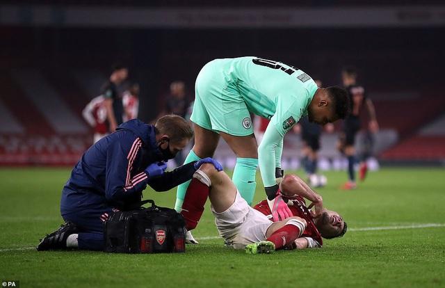 Arsenal 1-4 Man City: Thảm họa Runarsson, mạch trận thất vọng kéo dài! - Ảnh 3.