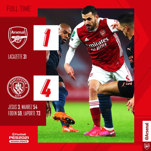 Arsenal 1-4 Man City: Thảm họa Runarsson, mạch trận thất vọng kéo dài! - Ảnh 4.