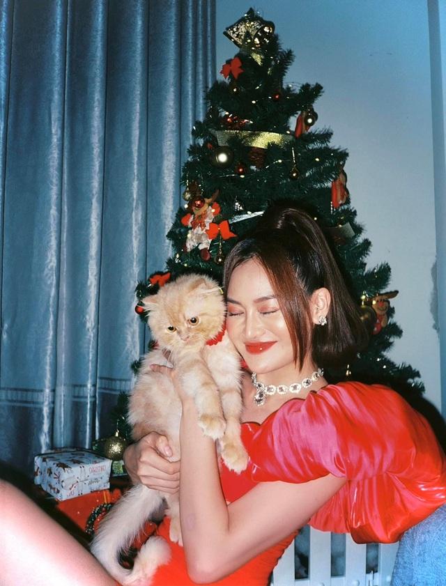 Lã Thanh Huyền mời bạn đến biệt thự, gia đình Hồng Đăng chụp với cây thông khổng lồ dịp Giáng sinh - Ảnh 19.