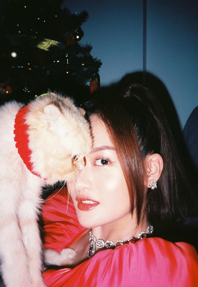 Lã Thanh Huyền mời bạn đến biệt thự, gia đình Hồng Đăng chụp với cây thông khổng lồ dịp Giáng sinh - Ảnh 17.