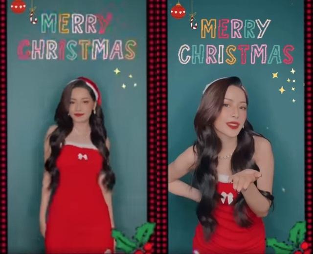 Ngắm sao Việt diện đầm đỏ cực chất dịp Giáng sinh - Ảnh 5.