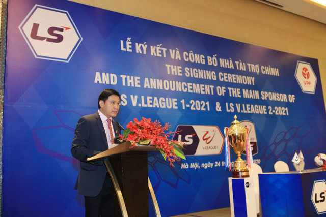 VPF lo xong nhà tài trợ 3 năm cho V.League - Ảnh 2.