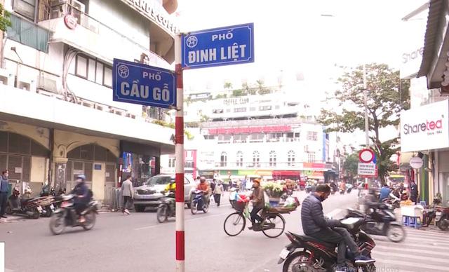 Bắt đầu mở rộng không gian đi bộ phố cổ Hà Nội - Ảnh 1.
