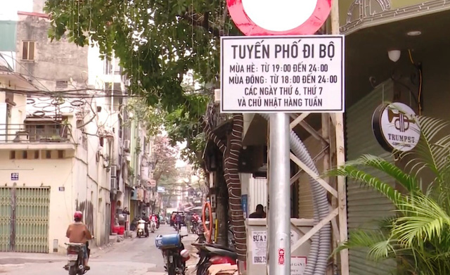 Bắt đầu mở rộng không gian đi bộ phố cổ Hà Nội - Ảnh 4.