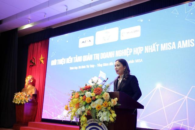 Misa Amis - Nền tảng quản trị doanh nghiệp hợp nhất Make in Vietnam trình làng - Ảnh 1.