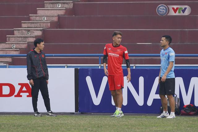 ẢNH: U22 Việt Nam sẵn sàng cho trận tái đấu với các đàn anh - Ảnh 3.