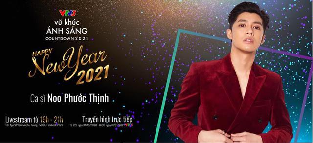 Vũ khúc ánh sáng - Countdown 2021: Bản hòa ca rực rỡ của ánh sáng và âm thanh - Ảnh 1.