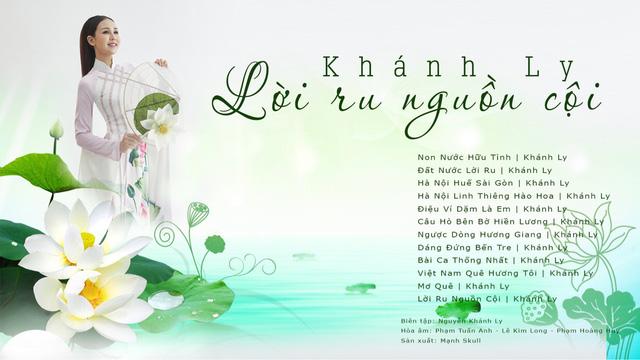 Sao Mai Khánh Ly làm album nhạc âm hưởng dân gian ba miền - Ảnh 2.