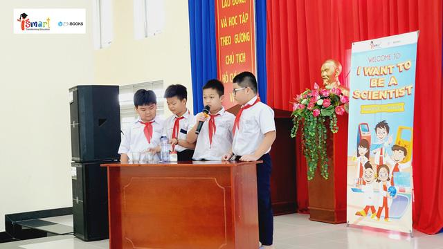 Tiếp lửa đam mê khoa học cho học sinh thông qua cuộc thi thuyết trình tiếng Anh - Ảnh 3.