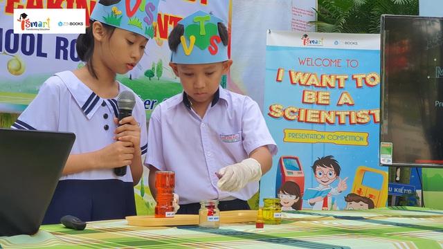 Tiếp lửa đam mê khoa học cho học sinh thông qua cuộc thi thuyết trình tiếng Anh - Ảnh 1.