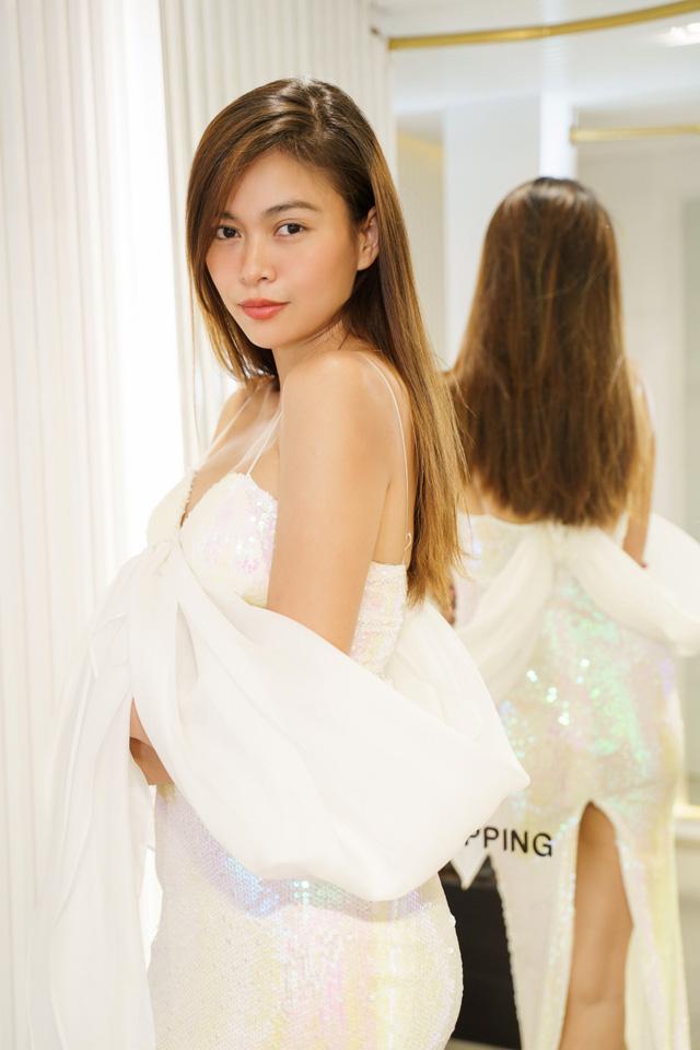 Mâu Thủy, Võ Hoàng Yến khoe trang phục cá tính trước show thời trang - Ảnh 8.