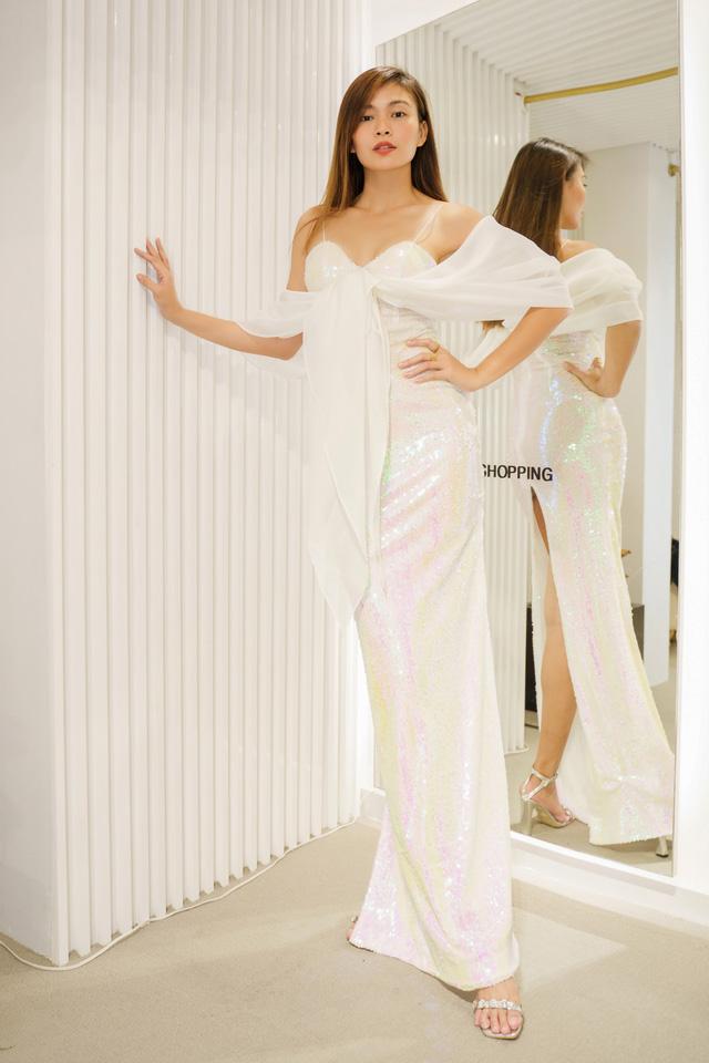 Mâu Thủy, Võ Hoàng Yến khoe trang phục cá tính trước show thời trang - Ảnh 10.