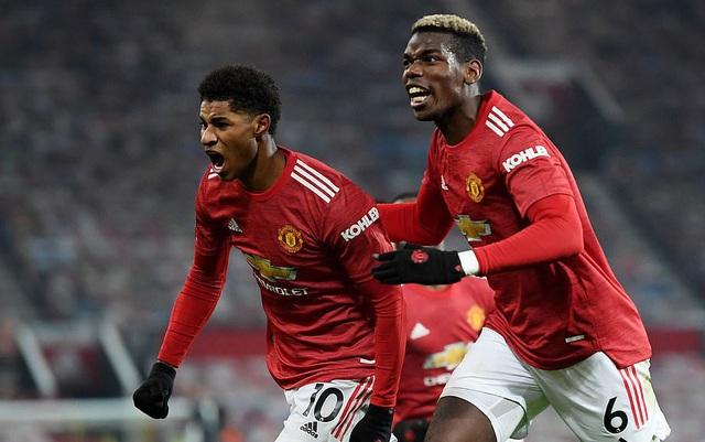 Kết quả bóng đá sáng 30/12: Man Utd, Arsenal thắng tối thiểu, Barcelona hòa thất vọng - Ảnh 1.