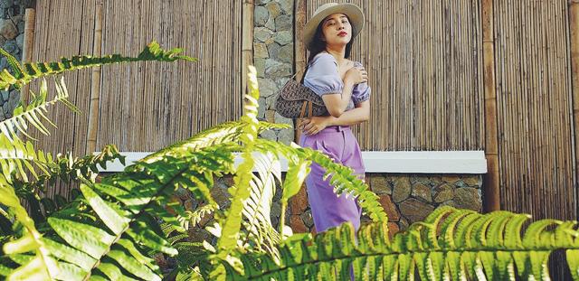 Ngắm phong cách thời trang thường ngày của ca sĩ Bảo Trâm - ảnh 6