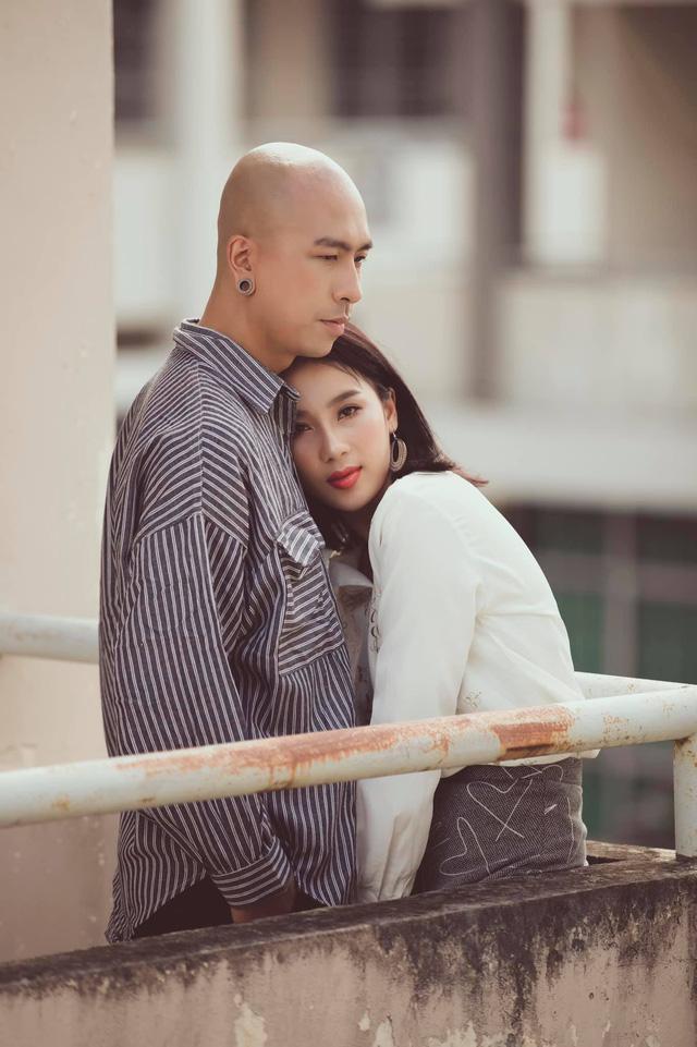 Những sao Việt công khai người yêu trong năm 2020 - Ảnh 8.
