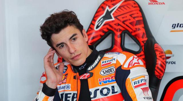 Đội Honda nhận tin không vui về chấn thương của Marc Marquez - Ảnh 1.