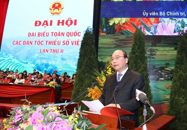 Thủ tướng Nguyễn Xuân Phúc: Cơ đồ đất nước mãi thuộc về cộng đồng các dân tộc Việt Nam - Ảnh 3.