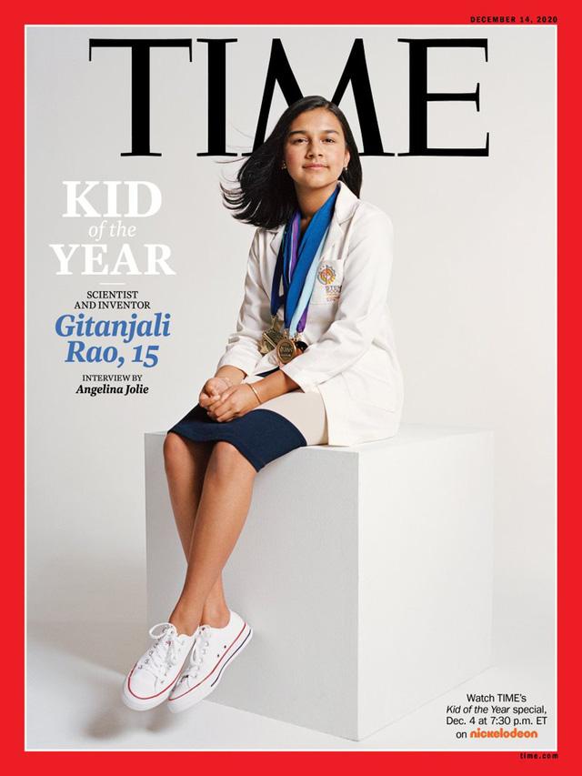 """Nữ sinh 15 tuổi tài năng giành danh hiệu """"Trẻ em của năm"""" trên tạp chí Time - Ảnh 1."""