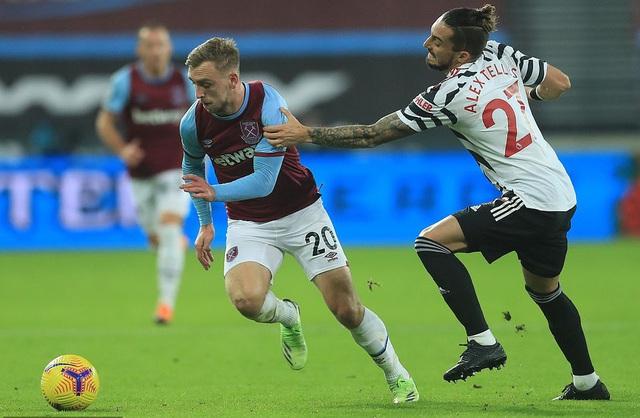 West Ham 1-3 Man Utd: Ngược dòng đỉnh cao, hiên ngang top 4 (Vòng 11 Ngoại hạng Anh) - Ảnh 1.