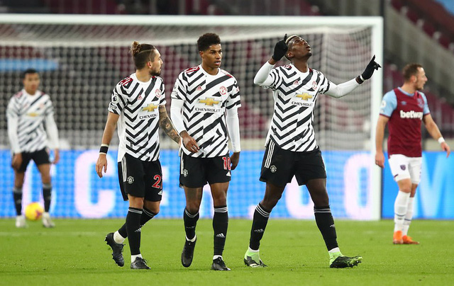 West Ham 1-3 Man Utd: Ngược dòng đỉnh cao, hiên ngang top 4 (Vòng 11 Ngoại hạng Anh) - Ảnh 2.