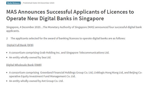 Điểm danh 4 ngân hàng số đầu tiên tại Singapore - Ảnh 1.