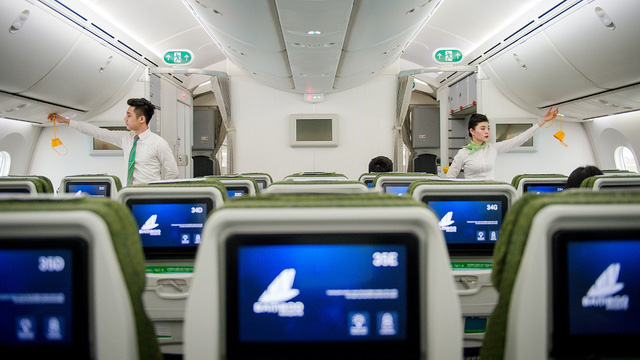 Passengers will experience the 5-star oriented service offered by Bamboo Airways