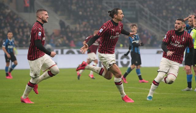Zlatan Ibrahimovic thiết lập cột mốc ấn tượng trong màu áo AC Milan - Ảnh 2.