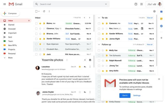 Gmail sẽ có một số thay đổi lớn vào ngày 20/2 - Ảnh 1.