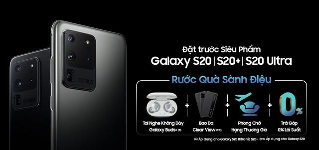 Galaxy S20 Ultra được bán ở Việt Nam với giá từ 31.99 triệu đồng - Ảnh 1.