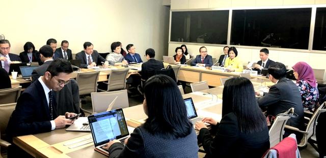 Phái đoàn Việt Nam chủ trì Ủy ban điều phối ASEAN tại Geneve về công tác của WTO - Ảnh 1.