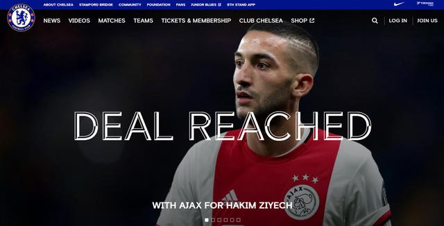 CHÍNH THỨC: Chelsea chiêu mộ thành công Hakim Ziyech - Ảnh 1.