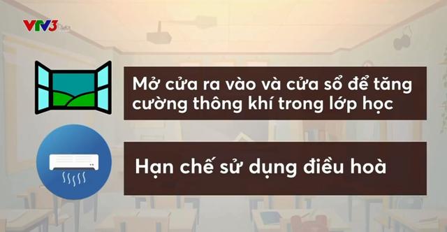 Hướng dẫn phòng chống dịch bệnh trong trường học - Ảnh 1.