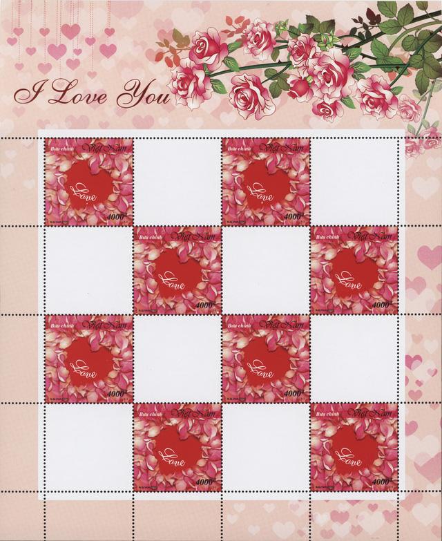 """Phát hành bộ tem """"Tem Tình yêu"""" nhân dịp Valentine 2020 - Ảnh 1."""