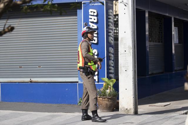 Nổ súng tại trung tâm thương mại ở Thái Lan, không xảy ra thương vong - Ảnh 3.