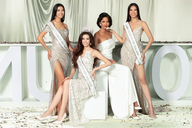 Dàn người đẹp Hoa hậu Hoàn vũ hội ngộ trong bộ ảnh Valentine - Ảnh 3.