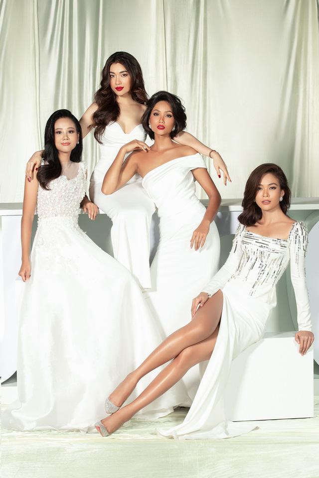 Dàn người đẹp Hoa hậu Hoàn vũ hội ngộ trong bộ ảnh Valentine - Ảnh 2.