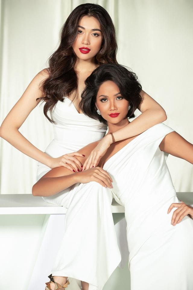 Dàn người đẹp Hoa hậu Hoàn vũ hội ngộ trong bộ ảnh Valentine - Ảnh 8.