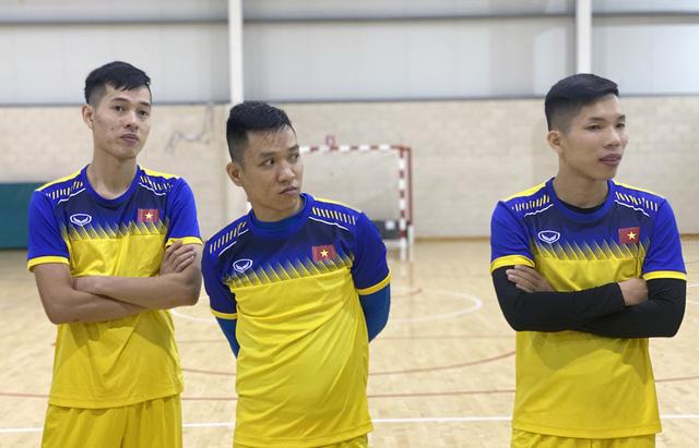ĐT futsal Việt Nam tích cực chuẩn bị cho trận giao hữu thứ hai tại Tây Ban Nha - Ảnh 12.