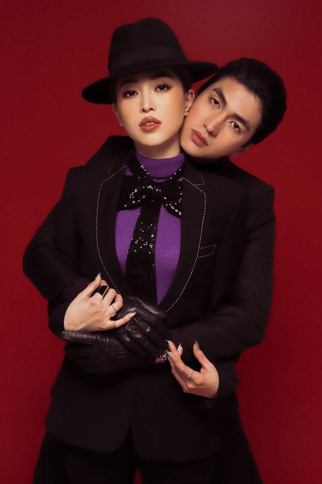 Ngắm bộ ảnh Valentine độc lạ của Bình An - Á hậu Phương Nga - Ảnh 5.