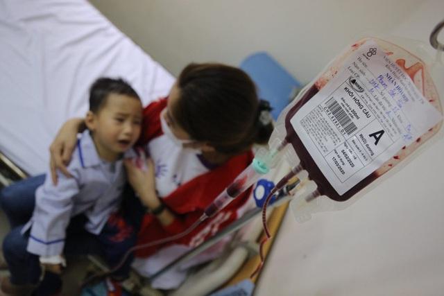 Những đứa trẻ chưa được ra viện vì thiếu máu nhóm A - Ảnh 2.