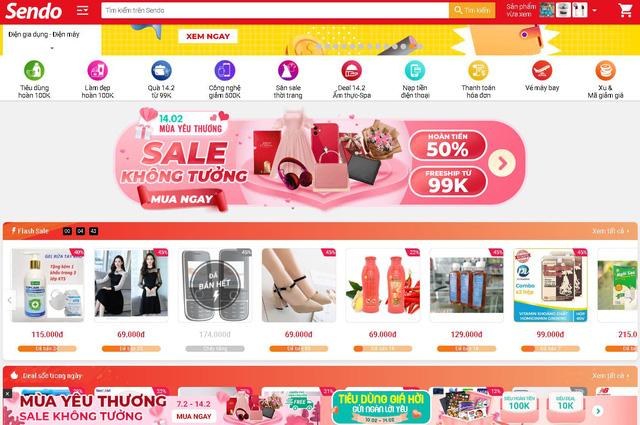 Sôi động thị trường Valentine online - Ảnh 1.
