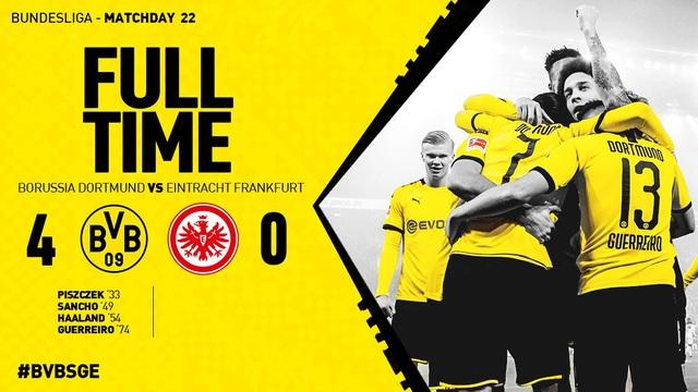 Vòng 22 VĐQG Đức Bundesliga: Dortmund giành chiến thắng thuyết phục trước Frankfurt - Ảnh 5.
