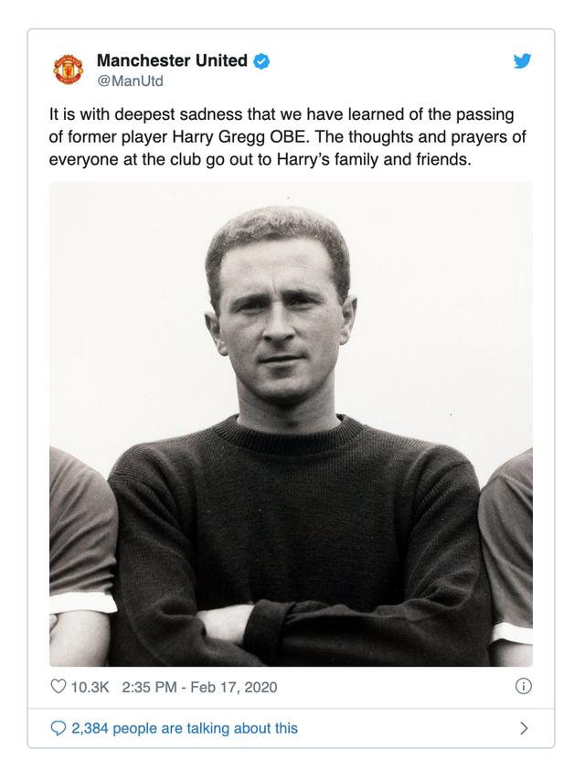 Người hùng Munich của Man Utd từ trần ở tuổi 87 - Ảnh 2.