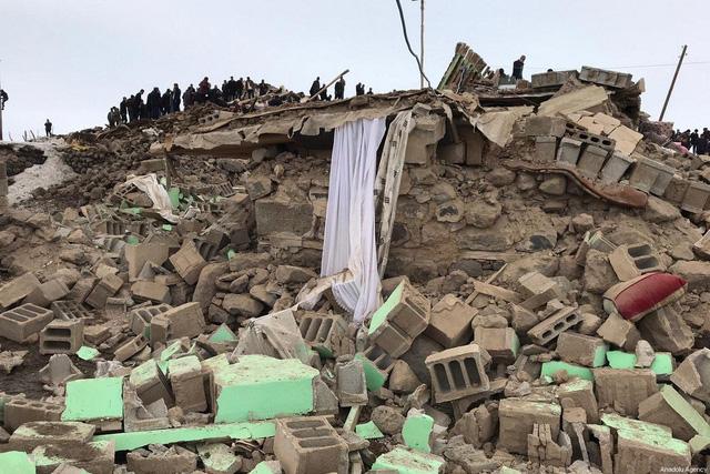 Động đất tại biên giới Thổ Nhĩ Kỳ - Iran - Ảnh 2.