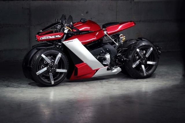 Soi siêu mô tô 4 bánh điên rồ, chạy động cơ Yamaha, giá 2,5 tỷ đồng vừa ra mắt - Ảnh 1.