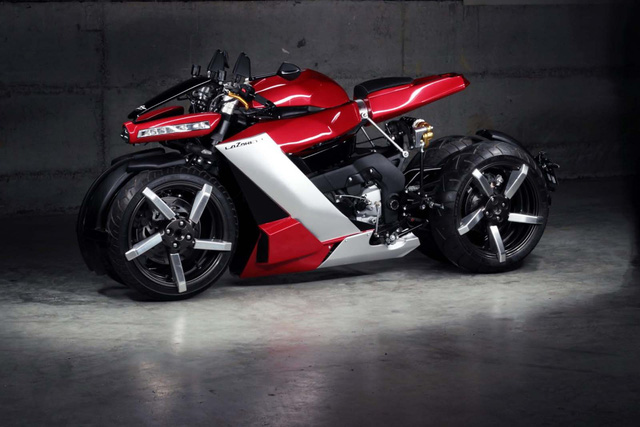 Soi siêu mô tô 4 bánh điên rồ, chạy động cơ Yamaha, giá 2,5 tỷ đồng vừa ra mắt - Ảnh 2.