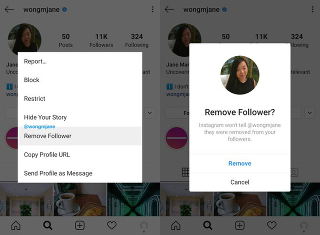Loại bỏ người theo dõi không mong muốn trên Instagram chưa bao giờ đơn giản đến vậy - ảnh 1